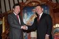 El PM surcoreano y el presidente mongol