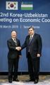 Diálogos financieros Corea del Sur-Uzbekistán