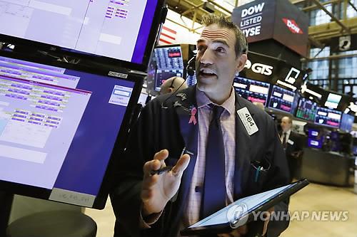 뉴욕증시, 사상 최고치 가격 부담…다우, 0.22% 하락 마감