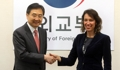 Vicecancilleres de Corea del Sur y Chile