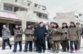 El líder norcoreano dirige las obras de la comarca de Samjiyon