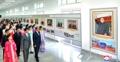 Exhibición conmemorativa del líder norcoreano
