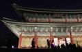 El palacio Changdeokgung de noche