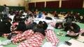Refugiados por el fuego en Goseong