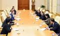 Delegación rusa en Corea del Norte