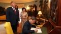 El presidente surcoreano en la Casa Blanca