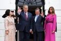 Sommet entre Moon et Trump
