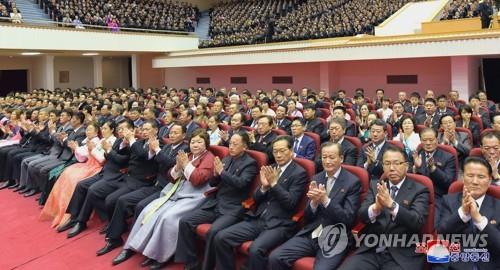 北, 김일성 생일 맞아 '김정은 2기' 체제결속 총력
