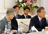 한-우즈베키스탄 확대회담