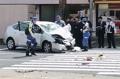日서 또 고령운전자 대형사고…87세 운전자가 횡단보도 질주
