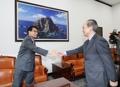 駐韓日本大使 国会を訪問