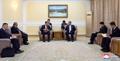 El canciller norcoreano se reúne con una delegación mongola