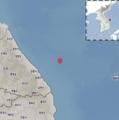Un terremoto afecta a la costa este de Corea del Sur