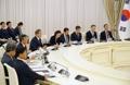 ウズベキスタンと首脳会談