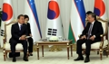 Cumbre entre Corea del Sur y Uzbekistán