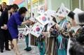 우즈베키스탄 특수유치원 방문한 김정숙 여사