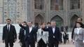 ウズベクの古都サマルカンドを訪問