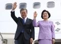 最後の訪問国カザフスタンに到着