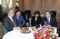 Líderes de Corea del Sur y Kazajistán