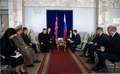 El líder norcoreano llega a Jasán
