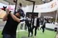 VRで野球体験