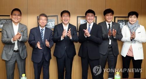 """고척돔 찾은 박양우 장관 """"스포츠, 여가+산업 모두 중요"""""""