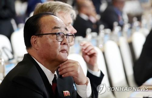 北대외경제상, 中-동북아박람회 참석…평양 출발