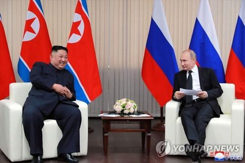 """北신문, 북러 수교 71주년에 """"전략적 친선관계 발전 입장"""""""