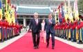 チリ大統領が訪韓