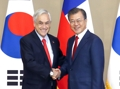 韓国・チリ首脳会談