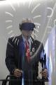El presidente chileno experimenta la realidad virtual