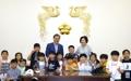 Día del Niño con el presidente surcoreano