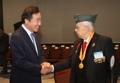 El PM surcoreano con los veteranos colombianos