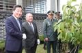 El PM con el ministro de Defensa colombiano