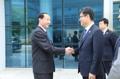 韓国統一相 就任後初の訪朝