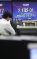 韓国総合株価指数 3%超の下落