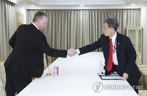 비건, 22일 김현종 면담 예정…북미실무협상 관련 논의 주목