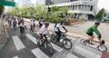 Défilé de vélos