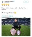 Jugador y gol del año del Tottenham Hotspur