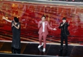 S. Korean singer performs at Chinese national event