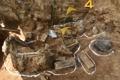 Restos de un aparente soldado surcoreano en la DMZ