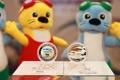 عملتان نقديتان تذكاريتان لبطولة العالم للألعاب المائية 2019 في كوانغجو