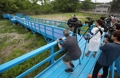 Journalistes étrangers à Panmunjom