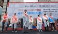 رئيس وكالة يونهاب للأنباء جو سونغ-بو في ماراثون الأطفال الدوري