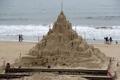 قلعة مصنوعة من الرمال