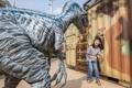 恐竜がテーマの新アトラクション