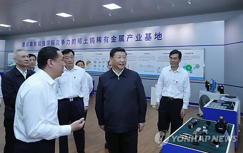 시진핑, 무역전쟁 중 사흘간 장시성 시찰…'고품질 발전' 강조