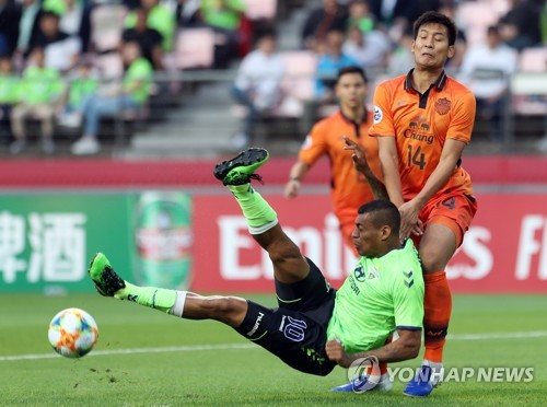 Jeonbuk wrap up AFC Champions League group stage with draw