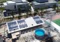 世界水泳の競技場工事大詰め