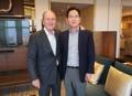 El heredero de Samsung y el expresidente de EE. UU.